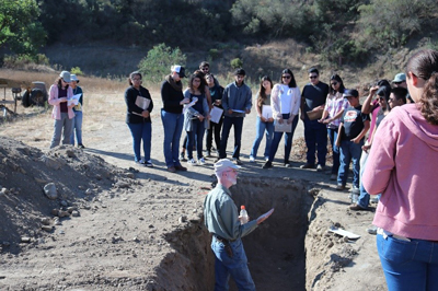 soil scientist land judging soil pit